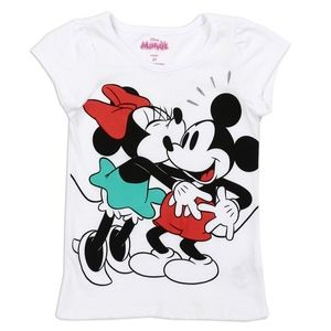 🎁✨New Minnie Mouse Girls T-shirt. 100% Cotton